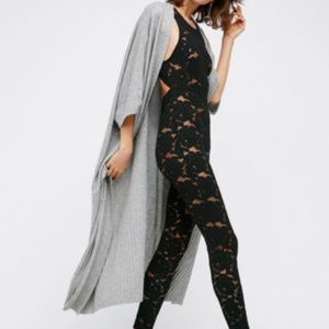 NWOT Intimately Free People Sexy Lace Catsuit